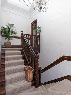 Upper Hall stairway