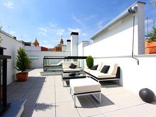 Corral del Rey Terraza Sevilla Duplex, chillout terrace