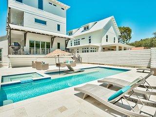 209 Magnolia Street! Gulf Views! Modern Luxury!