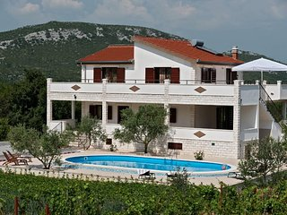 COUNTRYSIDE VILLA WITH POOL FOR RENT, TROGIR AREA