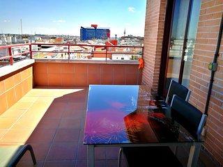 Apartamentos Torr en Madrid: Ático en 7D / Av de América/ Chamartin