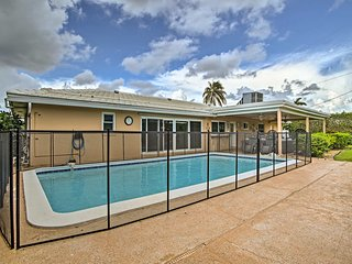 NEW! Riviera Beach Home w/ Pool - Walk to Beach!