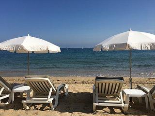 Cote d'Azur –Front de mer– Plage sable – Les Issambres –Meuble de tourisme 4****