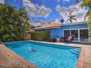 NEW! Miami Springs Home w/Pool-11 Mi. to the Beach