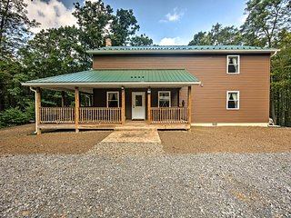 NEW! Quiet Getaway w/Game Room-35 Mi to Penn State