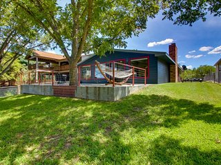 NEW LISTING! Amazing lakefront home w/ views, entertainment & large yard!