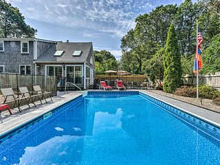 Mashpee Home w/Pool & Game Room- 1/2 Mile to Beach