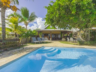 Beachfront 3 bedroom villa in Trou aux Biches