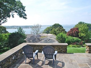 Grandview: Elegant Estate in Annisquam with water views & beach access.