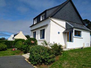 Location Vacances Plouguerneau: Maison vue sur mer, accès plage