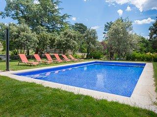 Finca con piscina en la sierra de Guadarrama