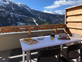 Appartement - Terrasse plein sud - Vue Montagne