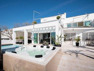 10990 Unique luxury villa ON THE BEACH!