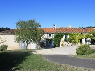 Luxury holiday home in Southwest France, heated swimming pool & air conditioning