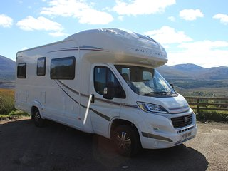 Motorhome self drive hire, based in Blackpool covering the North West UK