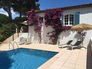 Luxury house with private garden & Pool near beach in Sainte Maxime.