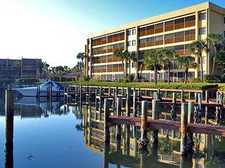 Spacious vacation rental condo with lagoon views, beach access, and pool