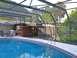 Bright Sarasota Pool Home Just Minutes to Beaches, Shopping, Grocer, and More
