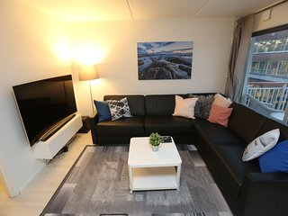 Apartment in the center of Oslo with Internet, Lift, Balcony, Washing machine (7