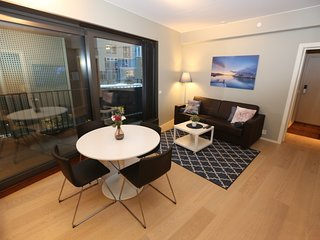 Cozy apartment in the center of Oslo with Lift, Parking, Internet, Washing machi
