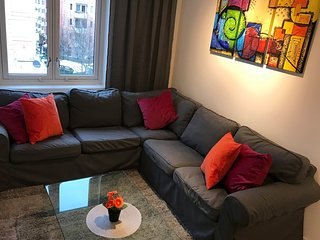 Apartment in the center of Oslo with Internet, Lift, Parking, Garden (670899)
