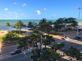 Flat na Praia de Boa Viagem - Vista para o mar