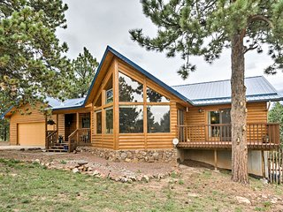 NEW! 5-Acre Westcliffe Mtn Home w/Deck-Near Trails