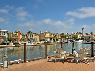 NEW! Waterfront Channel Islands Harbor Home w/Dock