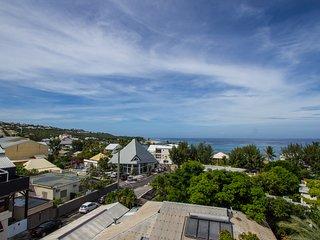 Magnifique vue mer pour ce F4 duplex 150 m plage