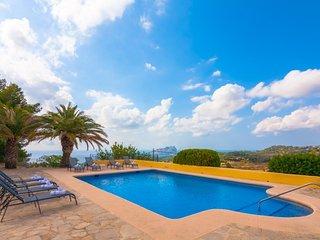 4 bedroom Villa in Benissa, Valencia, Spain : ref 5047212