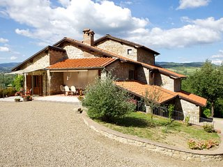 4 bedroom Villa in Castel San Niccolo, Tuscany, Italy - 5239804