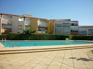 1 bedroom Apartment in Le Cap D'Agde, Occitania, France : ref 5541728