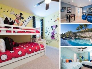EC212- 6 Bedroom Encore Villa With Themed Bedrooms