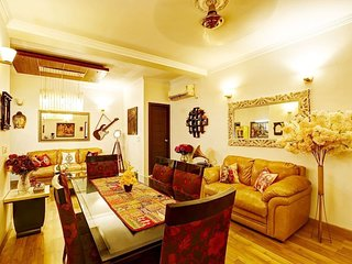 8 Rooms Service Villa + Terrace in New Delhi, GK-2