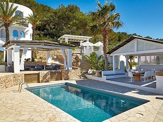 5 bedroom Villa in Es Cubells, Balearic Islands, Spain : ref 5669401