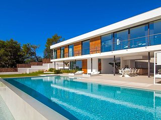4 bedroom Villa in Es Cubells, Balearic Islands, Spain : ref 5669390