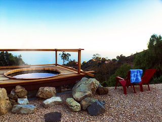 Romantic Malibu Ranch with Hot Tub and Ocean Views