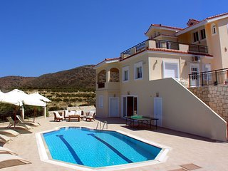 4 bedroom Villa in Agios Georgios Koxaris, Crete, Greece : ref 5673682