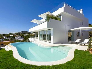 4 bedroom Villa in Playa de Talamanca, Balearic Islands, Spain : ref 5669382
