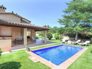 4 bedroom Villa in Santa Ceclina, Catalonia, Spain : ref 5550425