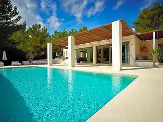 5 bedroom Villa in Es Cubells, Balearic Islands, Spain : ref 5669297