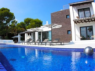 6 bedroom Villa in Cala Bassa, Balearic Islands, Spain : ref 5669350