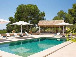 8 bedroom Villa in Es Cubells, Balearic Islands, Spain : ref 5669345
