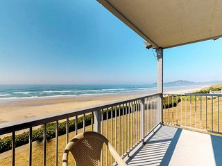 NEW LISTING! Oceanfront condo with seasonal shared pool - in Historic Nye Beach!