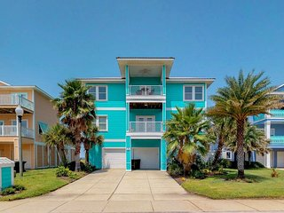 NEW LISTING! Luxury beach house w/sound and ocean views & shared pool access!
