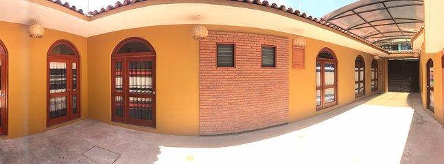 Vista panoramica de la casa
