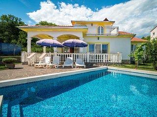 5 bedroom Villa in Pobri, Primorsko-Goranska Zupanija, Croatia : ref 5568299