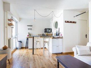 T2 actuel de 32 m² pour 2 - La Villette