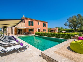 5 bedroom Villa in Manacor, Balearic Islands, Spain : ref 5503191