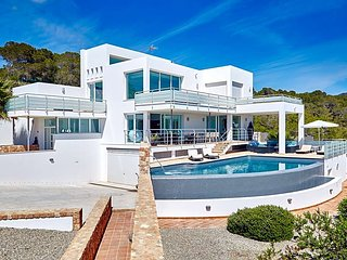 5 bedroom Villa in Cala Tarida, Balearic Islands, Spain : ref 5669376